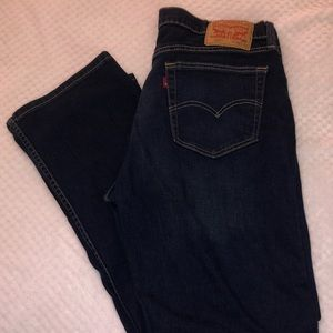 Levi Strauss 559 Relaxed Straight Jeans 36x32